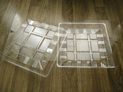 BOPS disposable plastic pizza tray, 24*24*3.5cm