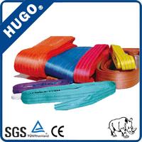 1ton 2 ton 3 ton Approved polyester flat webbing lifting slings