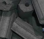 Coconut Shell Charcoal- Hexagonal Briquettes