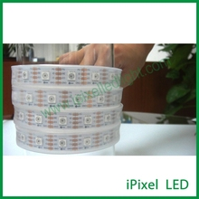 CE, RoHS rgb led pixel strip 5050 60led apa102 - white PCB, 5m/roll