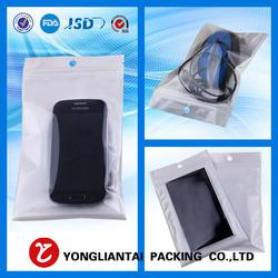 Free sample Custom Printed mobile phone zip lock plastic bag