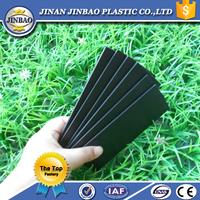 top quality high density rigid board pvc foam sheet black 20mm thick