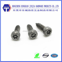 M3x10 Stainless steel round head security pin torx self tapping screw