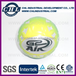 Promotion anti PU stress full color printing football
