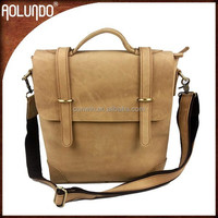 New arrivals mat genuine leather briefcases for sale