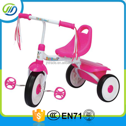 Lovely Style Pink Color Girls Toy Tricycle Baby Ride On Tricycle