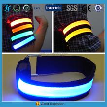 2015 Hot Sale custom slap wristband, glow in dark slap bracelet,led arm band