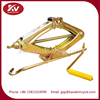 Guangzhou factory supply three wheel gasoline cargo motorcycle tricycle repair tool scissor lift jack