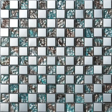 metallic glass mosaic international trade mosaicos wall tile and floor tiles