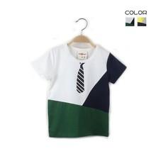 Tbn1058korean summer boys t-shirt with tie