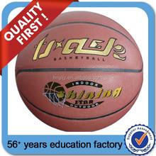Customed PU /PVC Material Laminated basketball