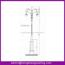 Hot Sales street light poles manufacturers in china/street light pole design