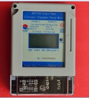 single phase prepayment electrical power counter