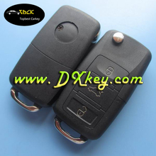 Topbest remote key shell for B5 style vw car key vw passat key