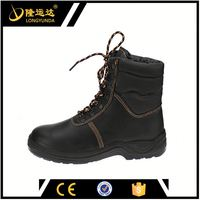 high-cut black steel toe S3 basic safety work shoes