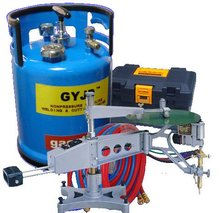 Oxy-gasoline cutting torch duplicating cutting machine copy cutting machine for cutting steel