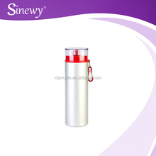 750ml al water bottle with ps cup