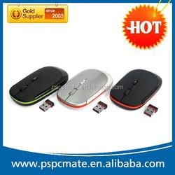 Cheap Wireless slim gift mouse with mini nano receiver
