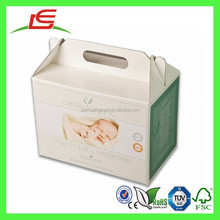 J086 Hot Sale Cardboard Rectangle Folding Paper Box for Gift for Food