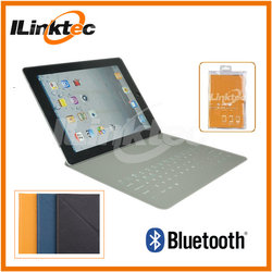 New 10 inch Ultra thin Leather Bluetooth Keyboard Case for iPad