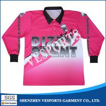 Mens dye-sublimation dri fit fishing shirt