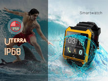 OEM&ODM Delicated TFT interface IP68 Shockproof Climbing surfing Fall-down detection smart watch