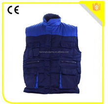 Polyester cotton two tone winter body warmer