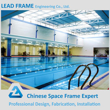 High quality galvanized swimming pool building light structure roof design