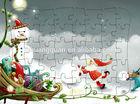 Trenó de natal carro 3d puzzle brinquedos venda quente do natal de quebra-cabeça de papel de presente