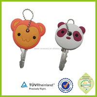 OEM welcome different color 2015 silicone rubber car key covers