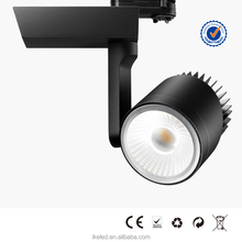 Adjustable Beam Angle 30W Dimmable LED Track Lighting