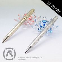 Small Order Accept Fashionable Customized Logo Printed Lady Parnter Ball Pen