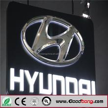 car company logo sign/car electronic brand signs/car logo metal signs