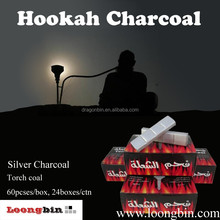 Toch coal 60pcs/box, Tobacco smoking charcoal