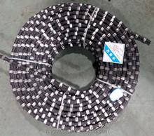 Herramientas tipo alambre del diamante vio para corte de granito