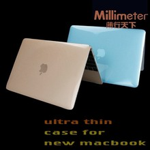 Top grade high-end purple blue case for macbook pro 13.3