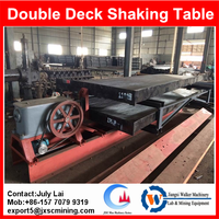 multideck concentrating table,copper separation shaking table for sale
