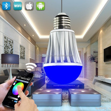 color changing lights bulb led wifi wireless remote wedding decoration