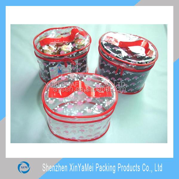 Специальный прозрачный игрушки пластиковые обода ziplock малый пвх сумка
