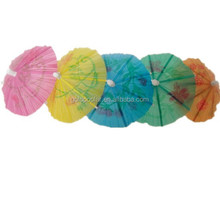 disposable paper cocktail decorative parasol picks