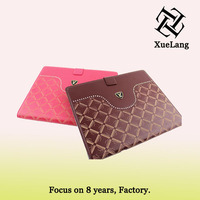 Bling leather case for ipad5 Luxury case for ipad3 9.7inch tablet cover case for ipad5