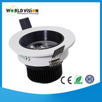wholesale high quality 220v 3w led ceiling light cut out 75mm
