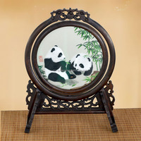 Wholesale Handmade Embroidery Abstract Modern Chinese Painting