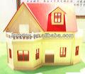 Mini família feliz boneca casa para crianças