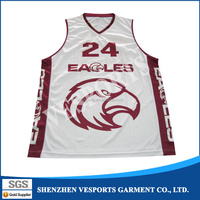 Custom sublimation adult and toddlers basketball apparel Latest Design Basketball Jerseys