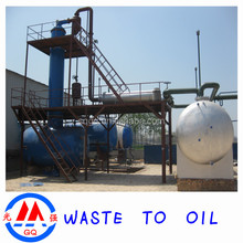 2015 Lastest Waste Engine Oil to Diesel Oil Distillation Machinery