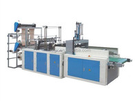 SHXJ-600 double layers Four- Channel hot sealing and cold cutting bag making machine