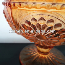 HOT Sale Colored Glass ice cream cup