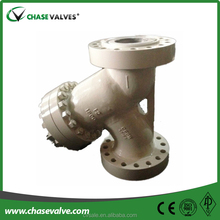 Guaranteed automatic stainless self cleaning strainer valve