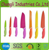 Top quality stainless steel non-stick knife set
